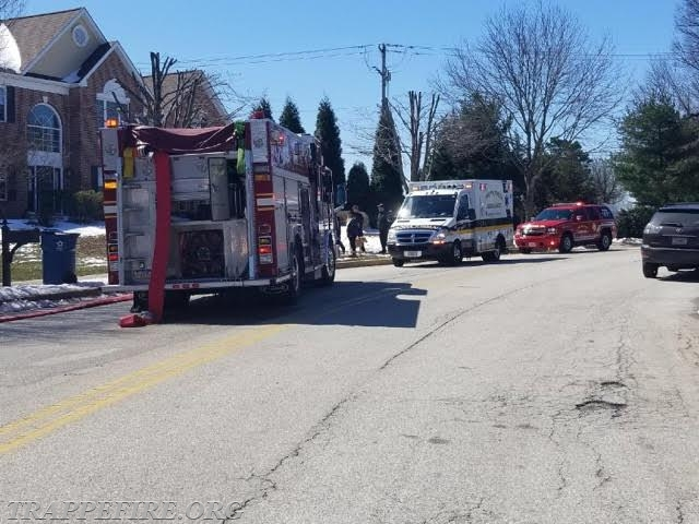EMS and Command on scene.