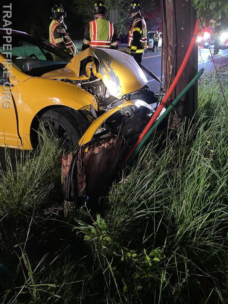 Crash on North Townshipline Road in Limerick Township