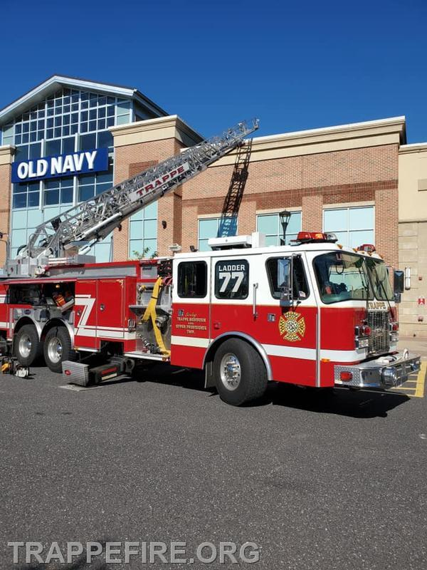 Upper Providence Twp. Old Navy Building Fire