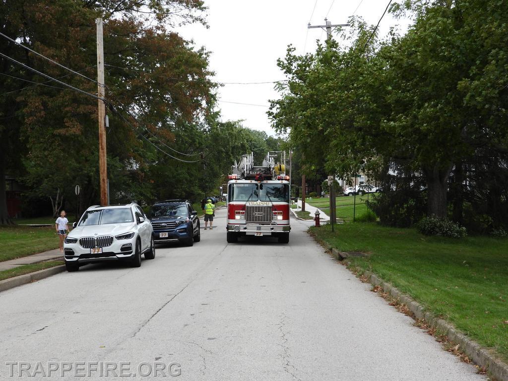 Collegeville Borough Electrical Fire